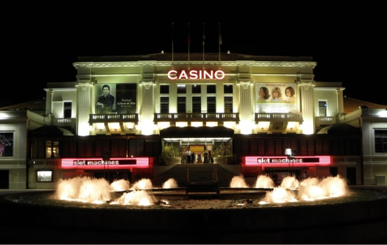 Bâtiment principal du casino